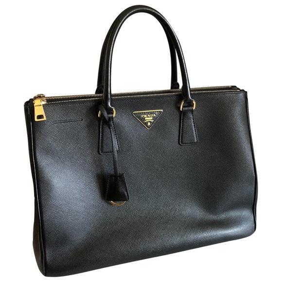 3b77eab6a6 Prada Bags | Galleria Leather Handbag | Poshmark